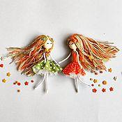 Куклы и игрушки handmade. Livemaster - original item Autumn dolls Game doll handmade. Handmade.
