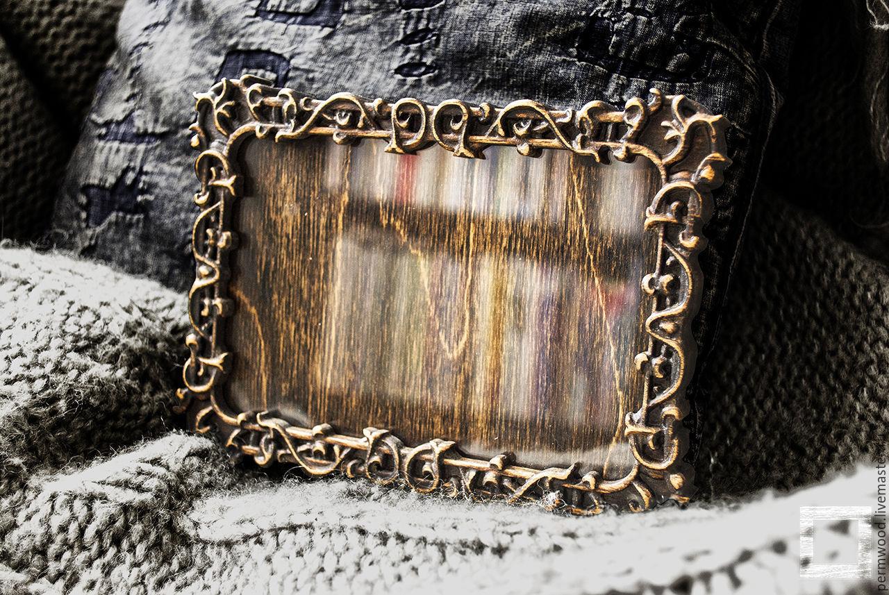 Резные рамки из дерева фото 84