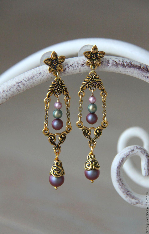 Earrings unnamed, Earrings, Moscow,  Фото №1
