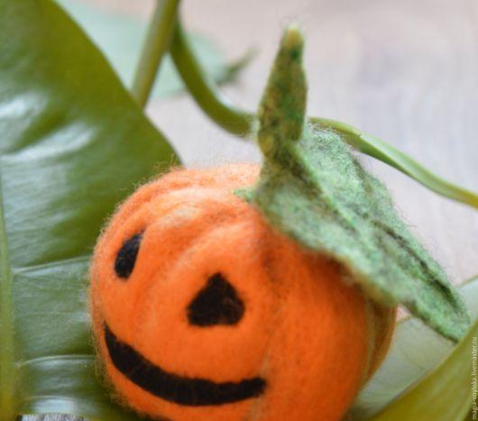 """Подарки на Хэллоуин ручной работы. Ярмарка Мастеров - ручная работа. Купить Сувенир """"Тыковка"""". Handmade. Рыжий, Подарок на Хэллоуин"""