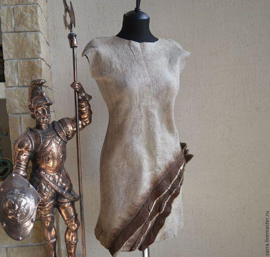 """Платья ручной работы. Ярмарка Мастеров - ручная работа. Купить Платье валяное  """"Mocco"""". Handmade. Платье, нарядное платье, платья"""