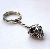 Сумки и аксессуары handmade. Livemaster - original item Silver-keychain