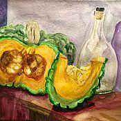 Картины и панно ручной работы. Ярмарка Мастеров - ручная работа Сицилийская тыква. Handmade.