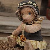 Куклы и игрушки ручной работы. Ярмарка Мастеров - ручная работа свинка тедди. Handmade.