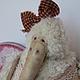 Мишки Тедди ручной работы. Ярмарка Мастеров - ручная работа. Купить Лола. Handmade. Белый, orel olga, мохер с шёлком