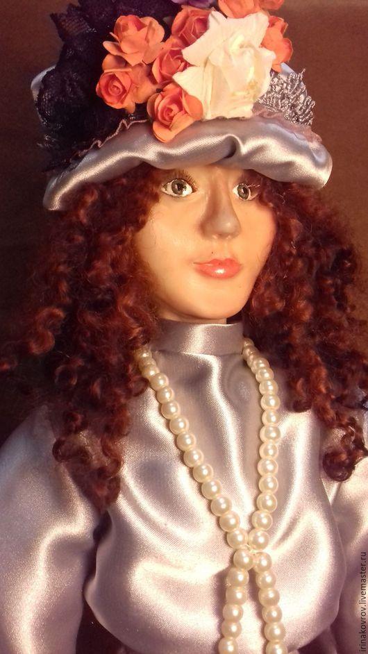 Коллекционные куклы ручной работы. Ярмарка Мастеров - ручная работа. Купить Кукла из полимерной запекаемой глины. Леди Мэри. Handmade.