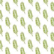 Иллюстрации ручной работы. Ярмарка Мастеров - ручная работа Иллюстрации: Набор бесшовной цифровой бумаги абстрактные листья. Handmade.