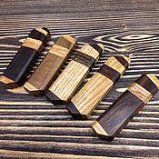 Подарки к праздникам ручной работы. Ярмарка Мастеров - ручная работа Флешка  в корпусе из натурального дерева. Handmade.