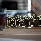 Для дома и интерьера ручной работы. Ярмарка Мастеров - ручная работа Ангелы танцующие. Handmade.