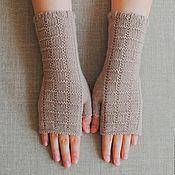 Аксессуары handmade. Livemaster - original item Mitts, knitted Tiles. Handmade.
