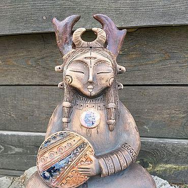 """Для дома и интерьера ручной работы. Ярмарка Мастеров - ручная работа Скульптура """"Мама Шамана"""". Handmade."""