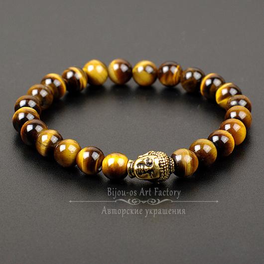 оригинал натурал тигровый глаз браслет мужской подарок брат друг юноша браслет резинке мужу будда оберег талисман зодиак будда браслет резинке подарок йога будда учитель наставник