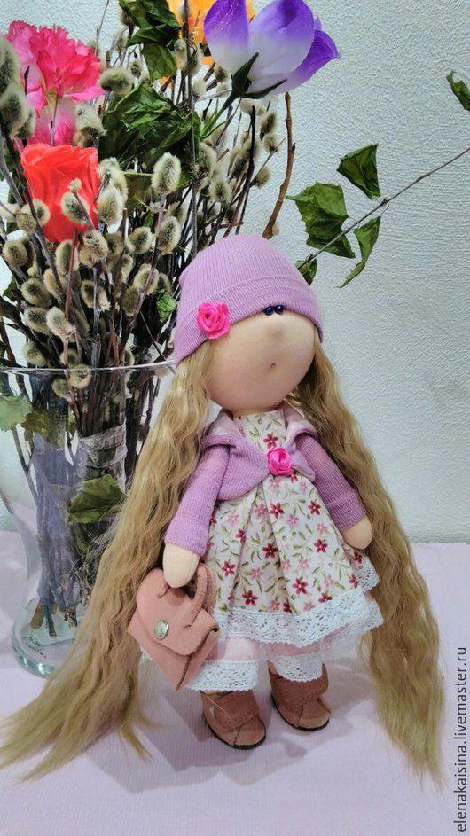 Коллекционные куклы ручной работы. Ярмарка Мастеров - ручная работа. Купить Кукла Адель. Handmade. Розовый, кукла в подарок, кукла