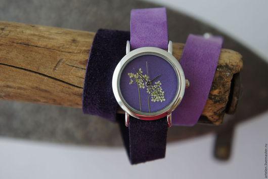 """Часы ручной работы. Ярмарка Мастеров - ручная работа. Купить Часы """"Первые цветы"""". Handmade. Часы, наручные часы модные"""