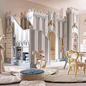 Для дома и интерьера ручной работы. Ярмарка Мастеров - ручная работа Замок -кровать детская. Handmade.
