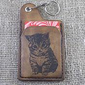 Сумки и аксессуары handmade. Livemaster - original item Keychain holder for cards. Handmade.