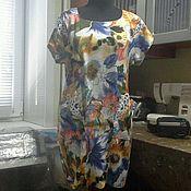 Одежда ручной работы. Ярмарка Мастеров - ручная работа платье Краски лета. Handmade.