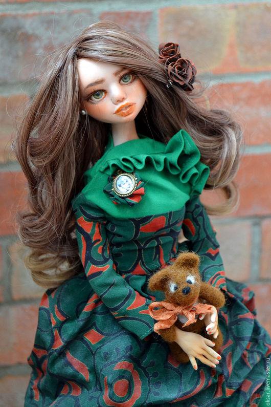 Коллекционные куклы ручной работы. Ярмарка Мастеров - ручная работа. Купить Ульяна, авторская кукла. Кукла в подарок, LivingDoll, текстиль.. Handmade.