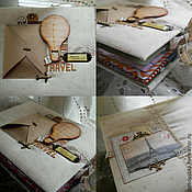 Канцелярские товары handmade. Livemaster - original item Album for photos and memories