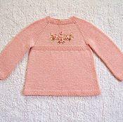 """Работы для детей, ручной работы. Ярмарка Мастеров - ручная работа Платье """"Розовый сад"""". Handmade."""