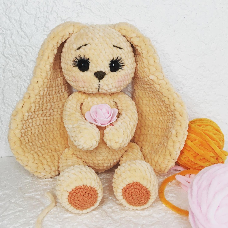 Мягкая игрушка Зайка, Мягкие игрушки, Кольцово,  Фото №1