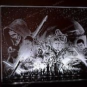Для дома и интерьера ручной работы. Ярмарка Мастеров - ручная работа Star Wars Пробуждение силы. Handmade.