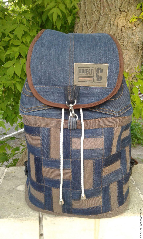 Backpack denim Basket Cap, Backpacks, Saratov,  Фото №1