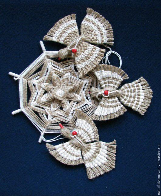 """Народные куклы ручной работы. Ярмарка Мастеров - ручная работа. Купить Подвеска """"Птицы счастья"""". Handmade. Комбинированный, подарок"""