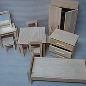 Куклы и игрушки ручной работы. Ярмарка Мастеров - ручная работа мебель для кукол 2. Handmade.