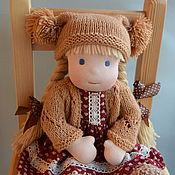 Куклы и игрушки ручной работы. Ярмарка Мастеров - ручная работа Машенька, вальдорфская кукла. Handmade.