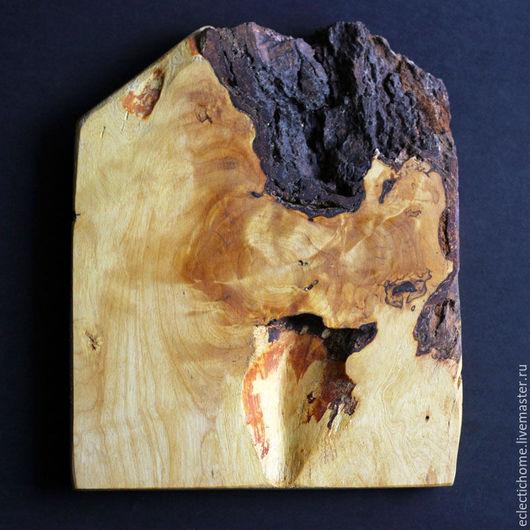 Этно ручной работы. Ярмарка Мастеров - ручная работа. Купить Панно из дерева, 26х22 см. Handmade. Коричневый, деревянное панно