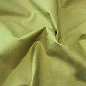 handmade. Livemaster - original item Ranfors (mercerized organic cotton poplin). olive. Handmade.