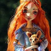 Куклы и игрушки ручной работы. Ярмарка Мастеров - ручная работа Эльф с феньком. Handmade.