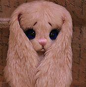 Куклы и игрушки ручной работы. Ярмарка Мастеров - ручная работа Очень трогательная зайка по имени Малышка. Handmade.