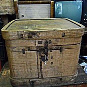 Винтаж ручной работы. Ярмарка Мастеров - ручная работа Старинный( до 1917 года) лубяной короб.. Handmade.