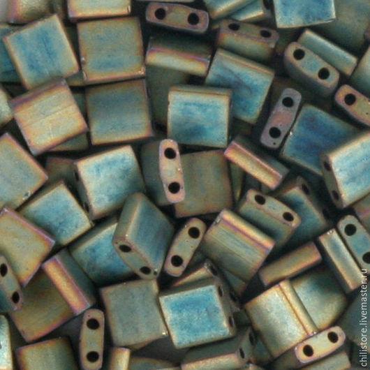 Для украшений ручной работы. Ярмарка Мастеров - ручная работа. Купить MIYUKI TL-2008. Handmade. Зеленый, миюки