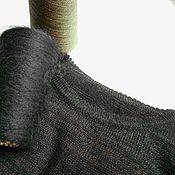 Одежда ручной работы. Ярмарка Мастеров - ручная работа Джемпер 50-52 р-р кид-мохер с люрексом. Handmade.