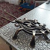 Для дома и интерьера handmade. Livemaster - original item Scarab beetle for removing shoes. Handmade.