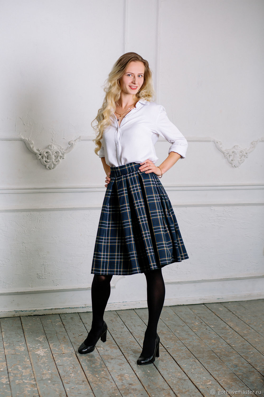 Одежда в шотландскую клетку