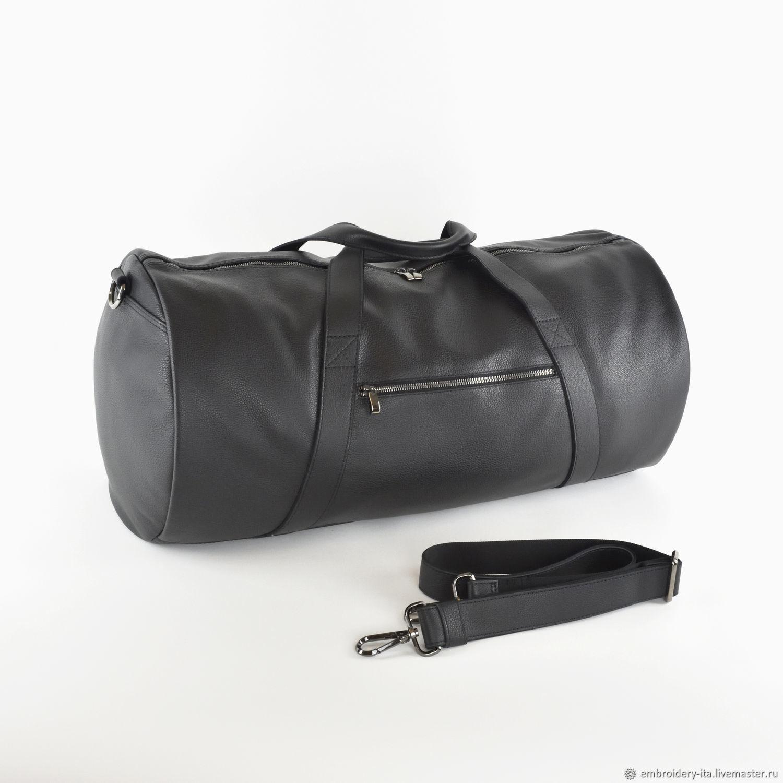 Сумка кожаная спортивная большая 60х30х30 мод. 035.1, Спортивная сумка, Одинцово,  Фото №1