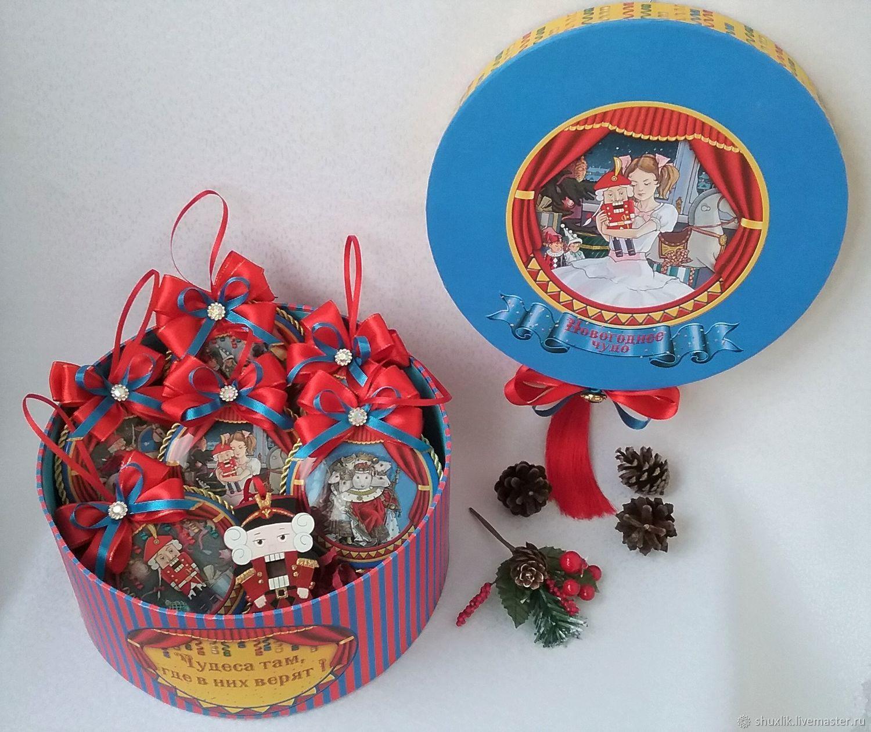 """Подарочный Новогодний набор игрушек """"Щелкунчик, Игрушки, Москва,  Фото №1"""