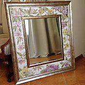 Для дома и интерьера handmade. Livemaster - original item Mirror-Painted ceramic tiles Pastel. Handmade.