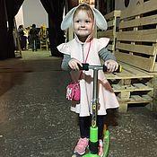 """Работы для детей, ручной работы. Ярмарка Мастеров - ручная работа Детский жилет """"зайчик"""". Handmade."""