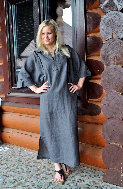 af6ccb0520 Dresses handmade. Livemaster - handmade. Buy Linen dress