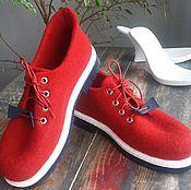 Обувь ручной работы. Ярмарка Мастеров - ручная работа Туфли прогулочные. Handmade.