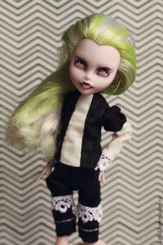 Коллекционные куклы ручной работы. Ярмарка Мастеров - ручная работа. Купить ООАК Monster High. Handmade. Бордовый, ooak, repaint