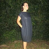 """Одежда ручной работы. Ярмарка Мастеров - ручная работа Льняное платье """"Южный вечер"""". Handmade."""