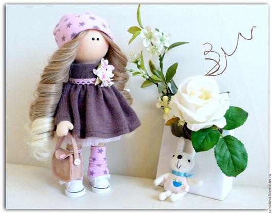 Коллекционные куклы ручной работы. Ярмарка Мастеров - ручная работа. Купить Евгения. Handmade. Розовый, кукла, кукла интерьерная