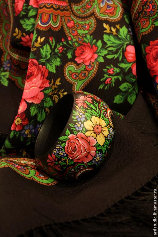 Браслеты ручной работы. Ярмарка Мастеров - ручная работа. Купить Браслеты под платки. Handmade. Браслет, русский стиль