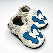 Работы для детей, handmade. Livemaster - original item Butterfly Baby Shoes,Girls` Shoes, Handmade Moccs,Ebooba. Handmade.